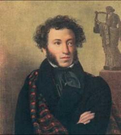 А.С. Пушкин.  Благодаря ему гостиница Гальяни стала знаменитой.