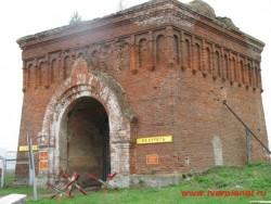 Остатки монастырских ворот. Фото 2011г.