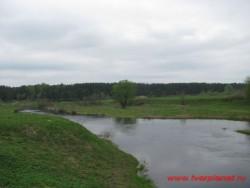 Река Тьмака и Первомайская (Желтикова) роща. Все почти как 600 лет назад. Фото 2011г.