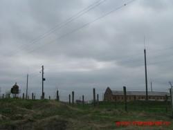 Здесь был монастырь.  Фото 2011г.
