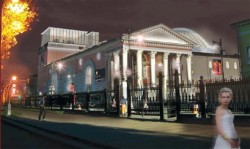 Таким здание театра видимо уже не будет.