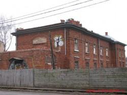 Училище имени А. Карпова, общий вид со стороны Крылова. Фото Ноябрь 2012 г.