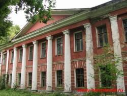 Таким здание больницы было совсем недавно. Фото 2008 года
