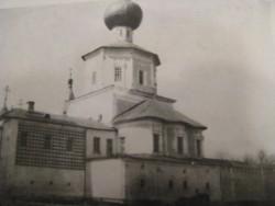 Церковь Алексея - человека Божия и примыкающие к ней царские чертоги. Фото из коллекции ТГОМ.