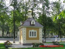 Часовня построенная в память разрушенного Спасо-Преображенского Собора 2008