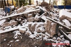 Остатки Кинобудки. Фото 19 октября 2014 года.