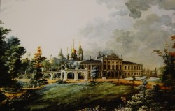 Предполагаемый облик Городского сада после реставрации