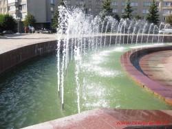 Фонтан на площади Пушкина