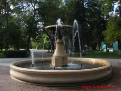 Фонтан в Городском саду
