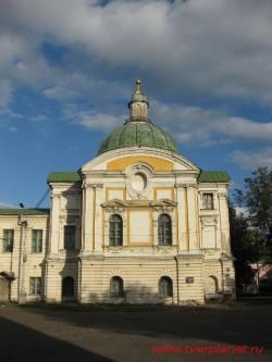 Путевой дворец. Павильон