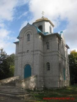 Храм во имя великомученика и целителя Пантелеймона