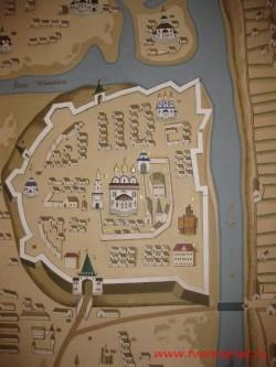 Тверской Кремль. Начало 18 века