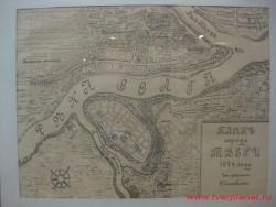 План города Твери. 1674 год. С рисунка из альбома Э. Пальмквиста