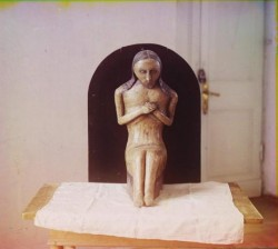 Деревянная Скульптура. Фото - 1910 год