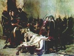 И.И. Творожников. Мирович перед телом Ивана VI (1884год)